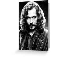 Sirius Black Greeting Card