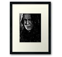 Professor Snape Framed Print