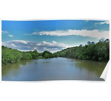 A View Up Snag Creek Poster