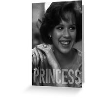 Princess - The Breakfast Club Greeting Card