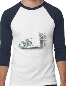 Don't have a Cow, Man! Men's Baseball ¾ T-Shirt