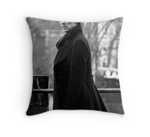 Sherlock 2 Throw Pillow