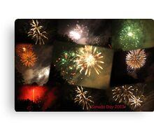 Canada Day 2013 Canvas Print