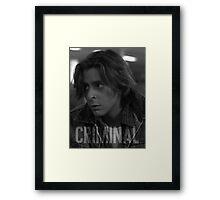 Criminal - The Breakfast Club Framed Print