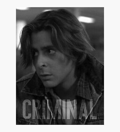 Criminal - The Breakfast Club Photographic Print