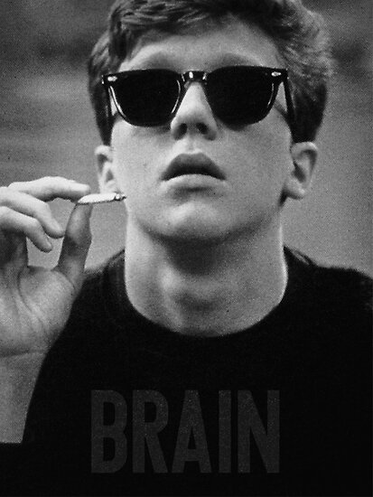 Brain - The Breakfast Club by ABRAHAMSAPI3N