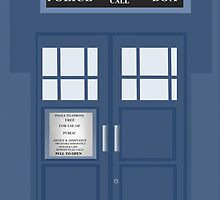 Doctor Who - Tardis by SoDelicious