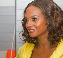 Alesha Dixon opens La fitness in Orpington Kent by Keith Larby