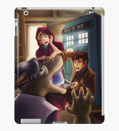 Doctor Who and Red Riding Hood (iPad Case) iPad Case/Skin