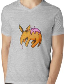 Aardvark Baby Mens V-Neck T-Shirt