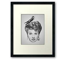 Lucille Bird Ball  Framed Print