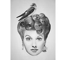 Lucille Bird Ball  Photographic Print