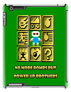 No more bombs but power up brothers by Kwok Kit Yuen