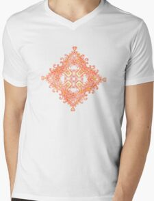 Colours & Abstract Mens V-Neck T-Shirt