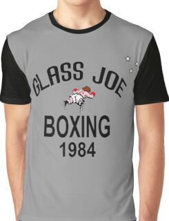 Punch-Out!!! Glass Joe Boxing Graphic T-Shirt