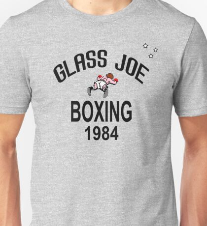 Punch-Out!!! Glass Joe Boxing Unisex T-Shirt