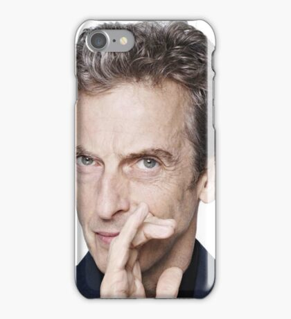 Doctor Who - Peter Capaldi Twelveth Doctor iPhone Case/Skin