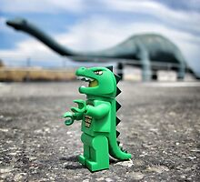 Road-trip photos: Dinosaur! by bricksailboat