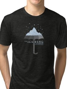 The Iceberg Lounge Tri-blend T-Shirt