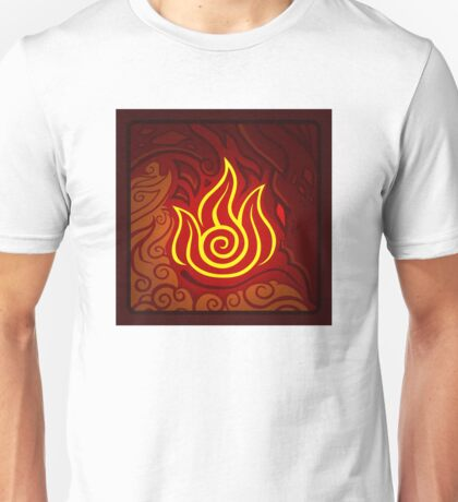 Fire Nation Emblem Unisex T-Shirt