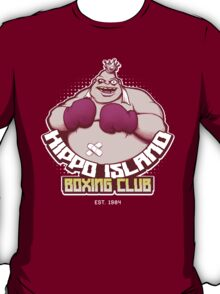 Hippo Island Boxing Club T-Shirt