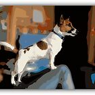 Jack Russell II by Anna  West