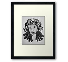 Judy lolly Garland Framed Print