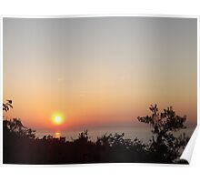 Sunset In Sorrento Poster