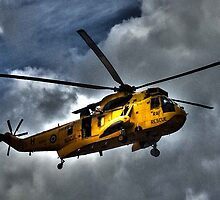 Royal Air Force rescue Helicopter by Isobel Embleton