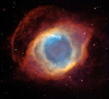 Helix Nebula by AutumnIsComing