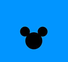 Mickey Mouse  Blue by chloeamber