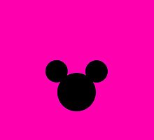 Mickey Mouse Pink by chloeamber