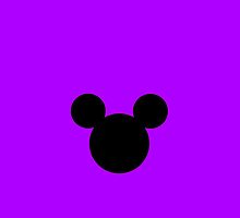Mickey Mouse Purple by chloeamber
