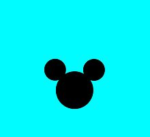 Mickey Mouse Turquoise  by chloeamber