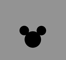 Mickey Mouse Grey by chloeamber