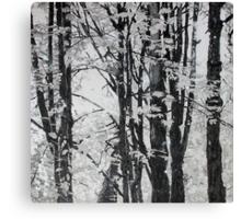 Specks of Light, mixed media on canvas Canvas Print