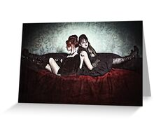 Gothic Slumming Greeting Card