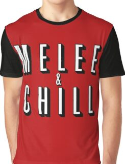 Melee & Chill Graphic T-Shirt