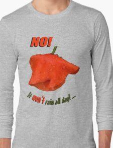 Red poppy raindrops T-Shirt