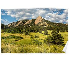 Delicious Vanilla Clouds On A Summer Chautauqua Morning Poster