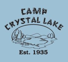 Camp Crystal Lake T-Shirt by retrorebirth