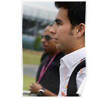 Sergio Perez 2013 Poster