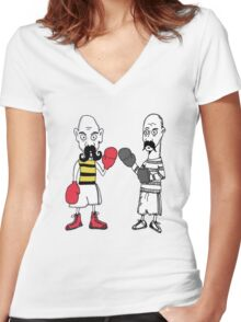Boxers Women's Fitted V-Neck T-Shirt