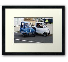 Eddie Jordan and David Coulthard Framed Print