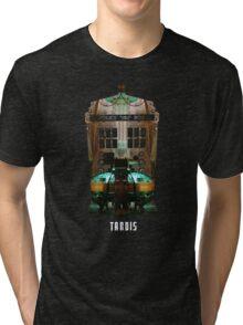 TARDIS Console Tri-blend T-Shirt