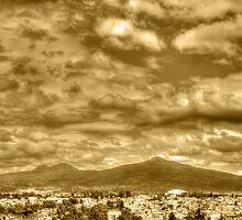 ©HCS Cloudy Day In Vintage Sepia by OmarHernandez