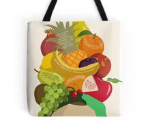 An Apple A Day- Health Poster Tote Bag