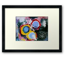 Survival in The Absence of Reality Framed Print