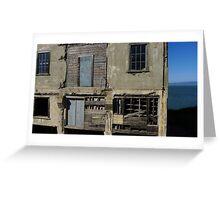 Alcatraz Decay Greeting Card