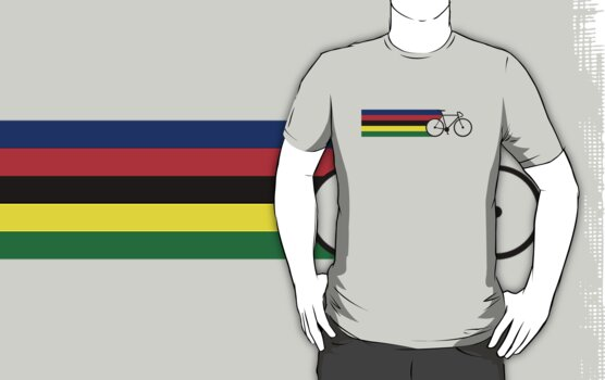 Rainbow Jersey (bicycle racing) by MrYum